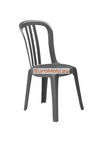 Chaise empilable Casta Bistrot grise