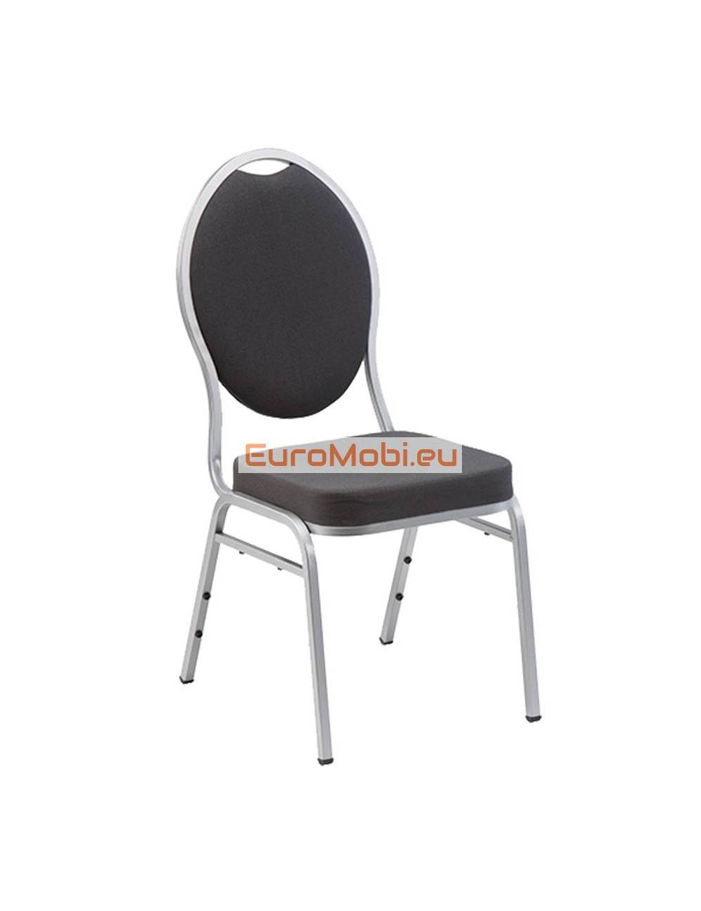 Stacking Chair Wellington Aluminum Color