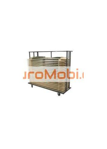 table transport trolley 220 x 80 cm