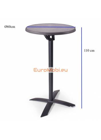 size of the table