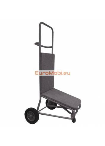 Petit chariot de transport pour chaises empilables Wellington
