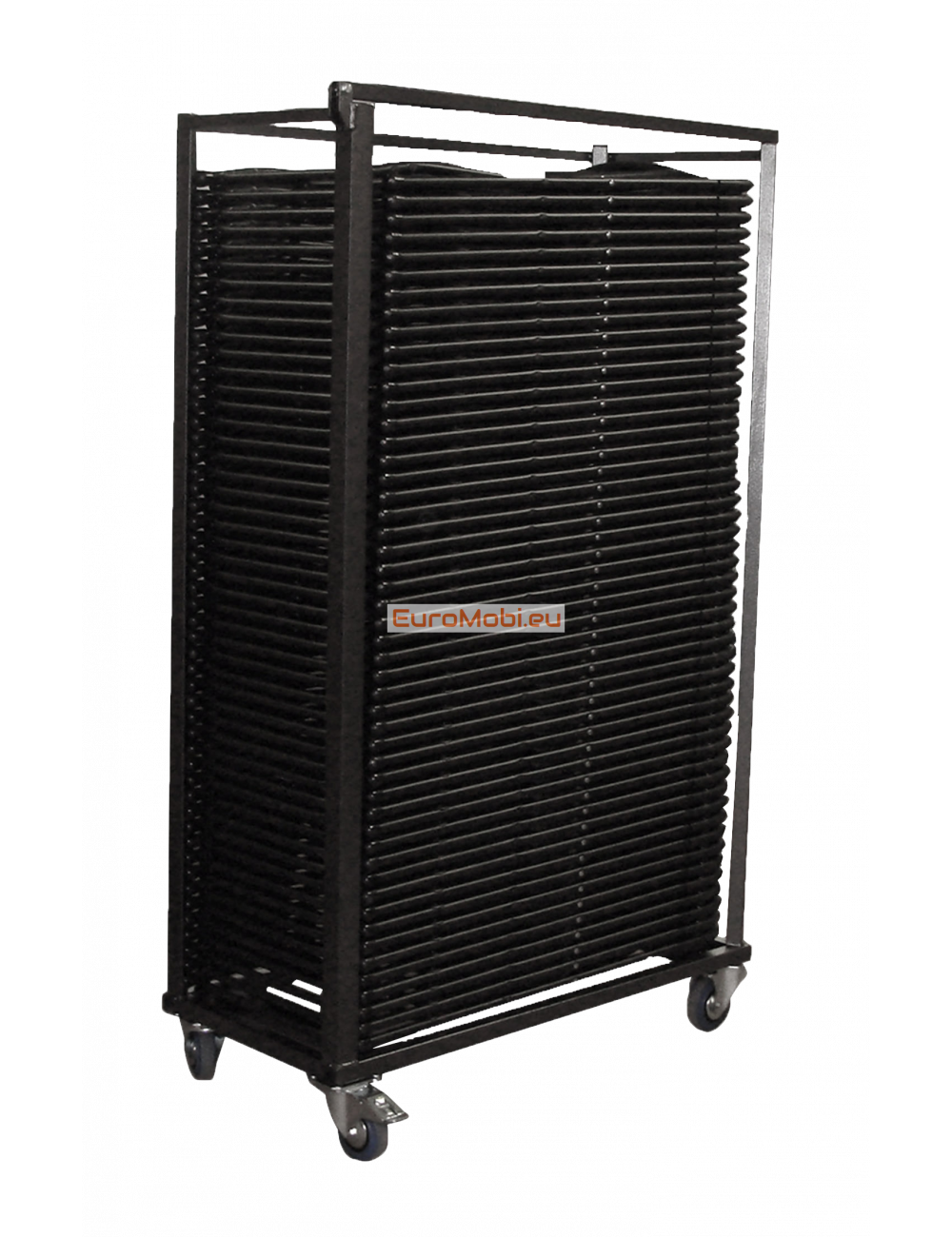 Transport trolley for Cluny folding chairs full