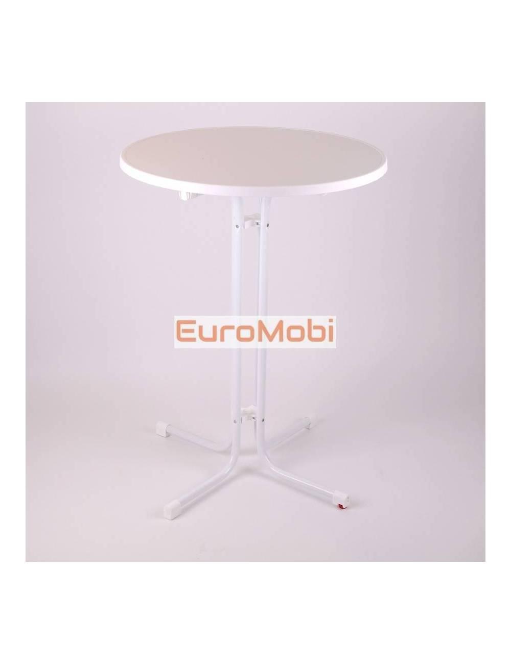 Standing table Morel White Ø80cm