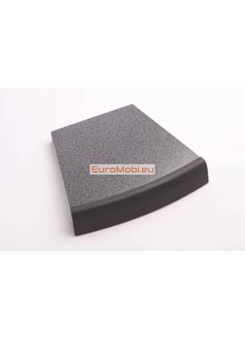 """Table """"mange-debout"""" Morel Anthracite 70 x 70 cm zoom"""