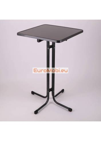 Standing table Morel Anthracite 70 x 70 cm