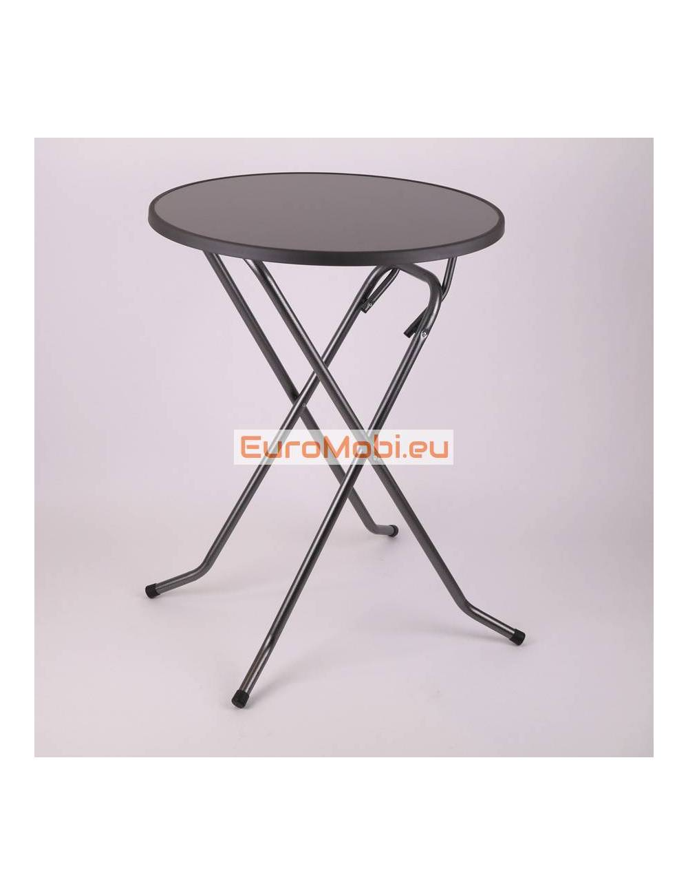 Mater standing table Anthracite Ø80cm