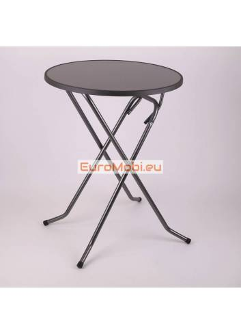 Mater standing table Anthracite Ø85cm