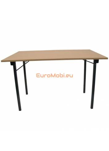 Folding table Tampa beech 160x80cm open