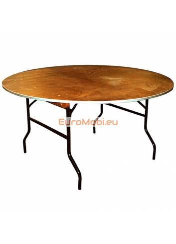 Tacoma folding table round Ø122cm open