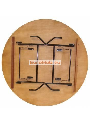 Tacoma folding table round Ø122cm folded