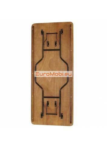 Tacoma folding table rectangular 183 x 76cm folded