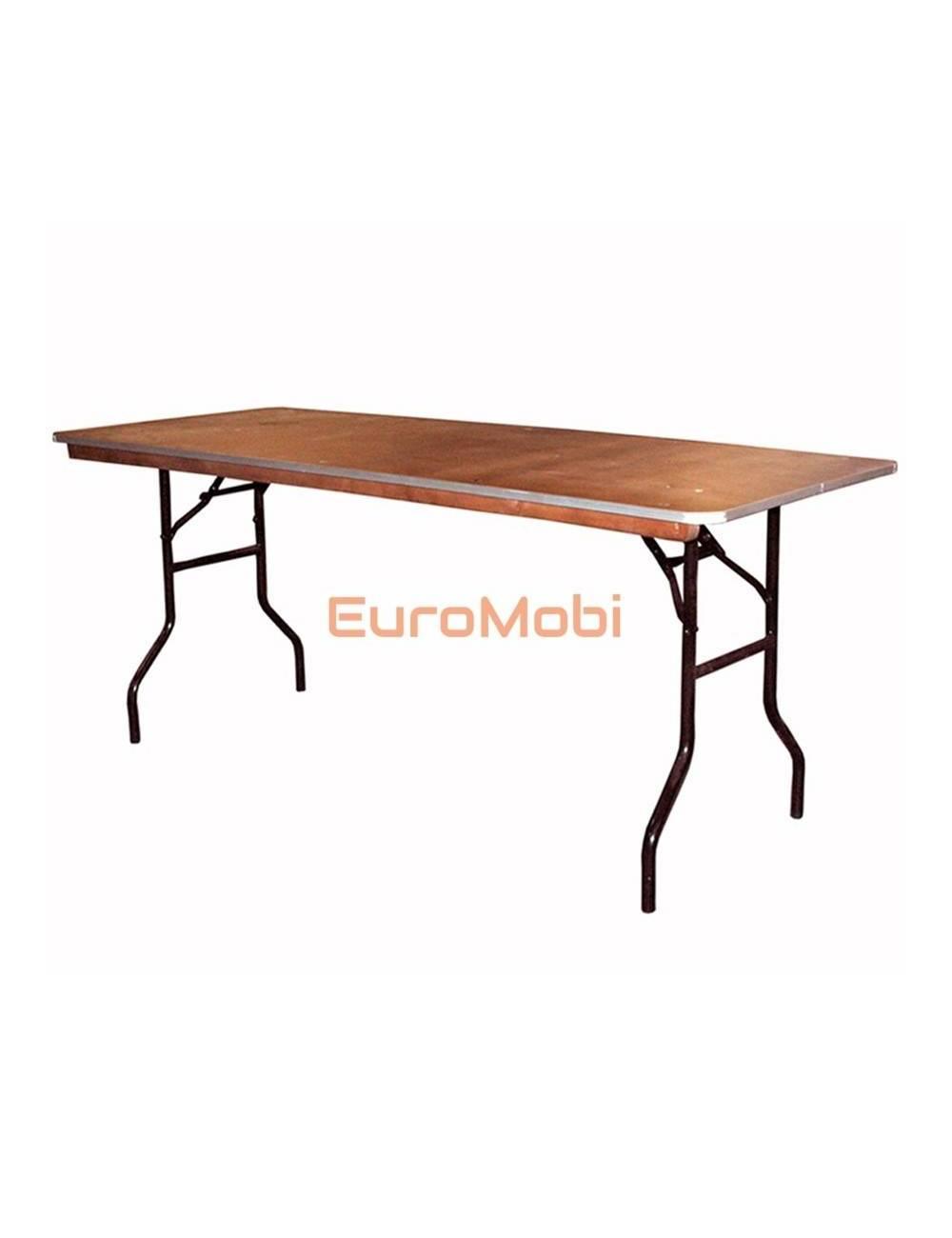 Tacoma folding table rectangular 183 x 76cm open