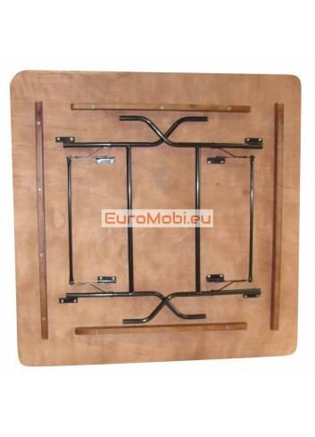 Tacoma table pliante carrée 153 x 153cm