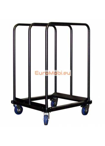 Transport trolley folding tables Tacoma (half) round and square 1