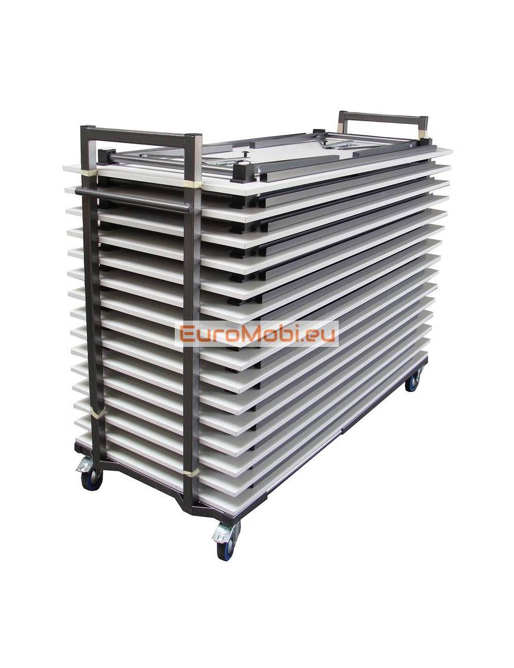 Transport trolley folding tables Tampa full