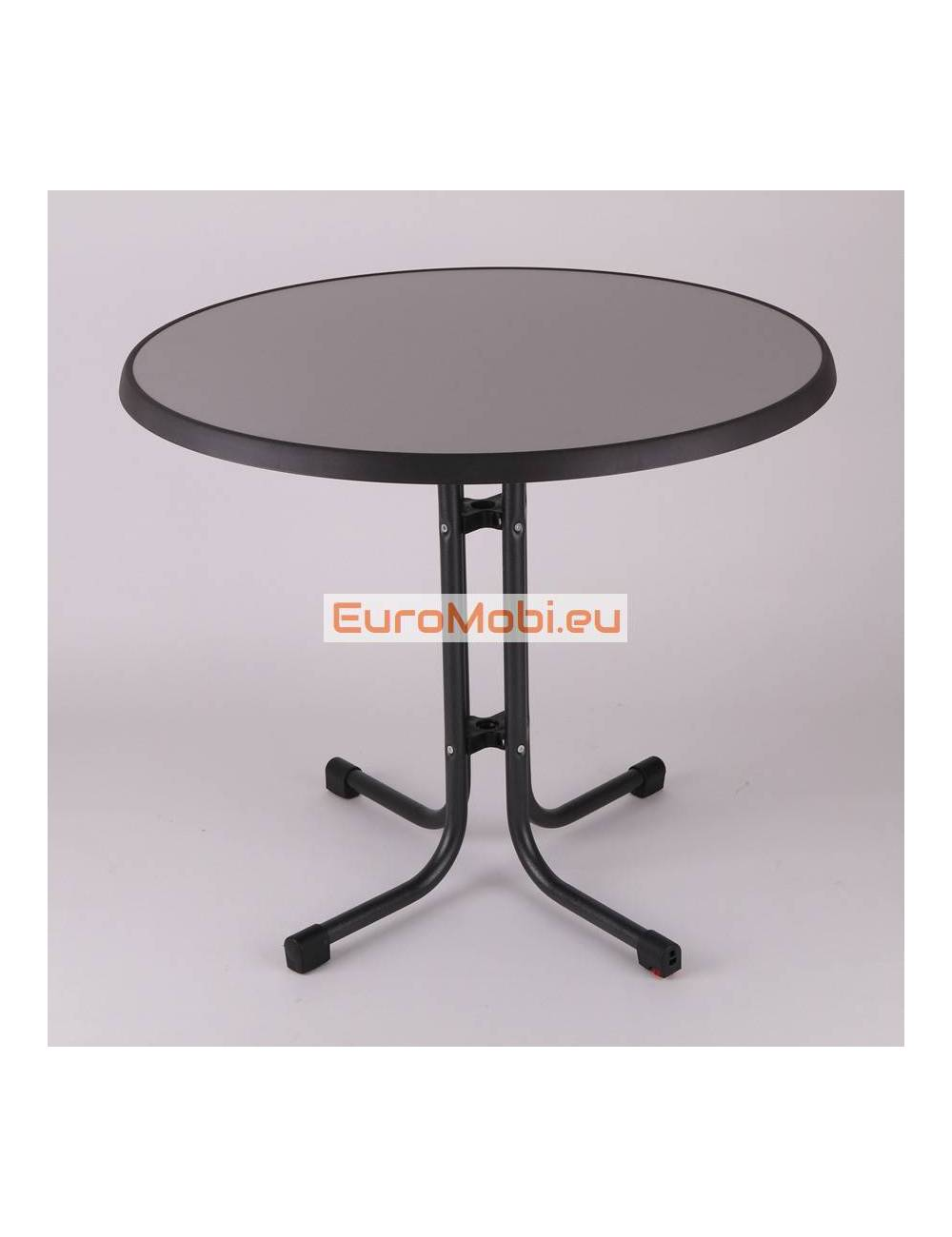 Patio table Tucson Metal brushed Ø85cm