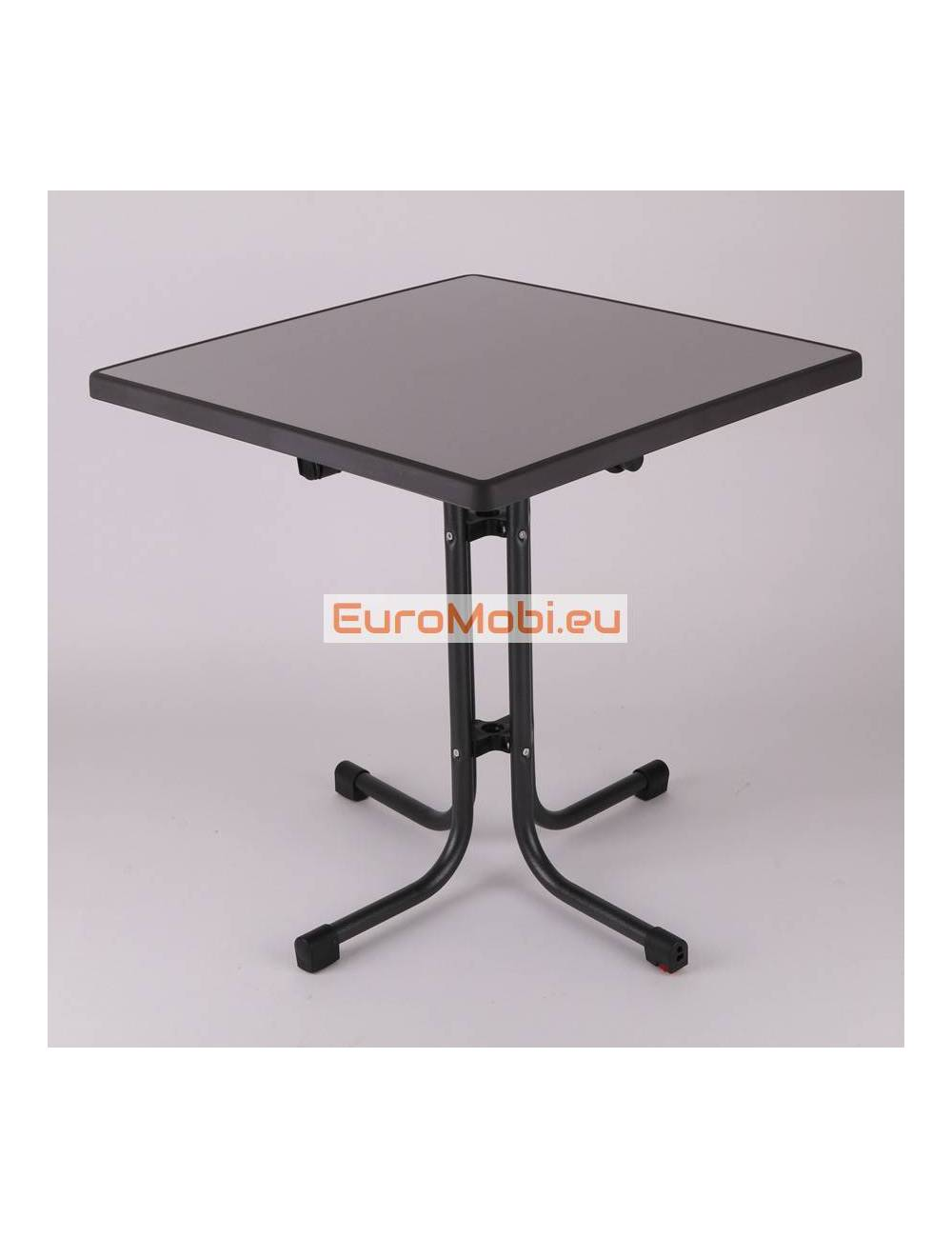 Patio table Tucson Metal brushed 70 x 70 cm
