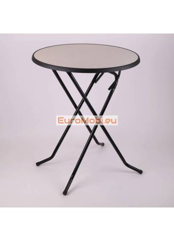 Mater standing table Granit Ø85cm open