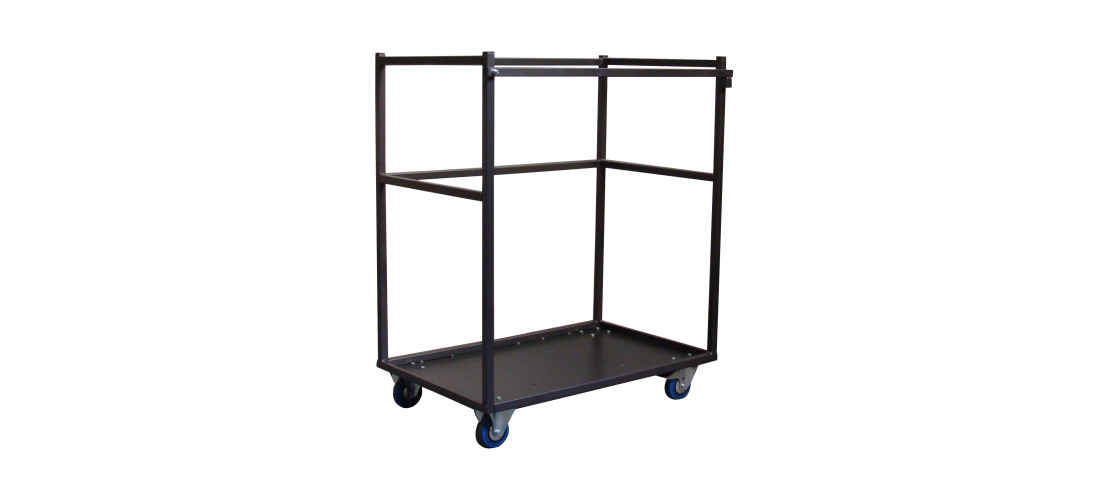Transport carts for terrace tables
